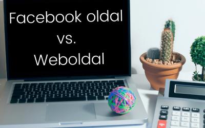 Facebook üzleti oldal vs. Weboldal